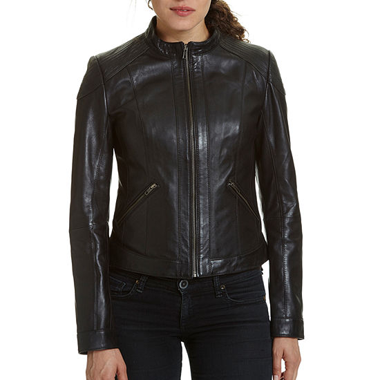 Excelled Leather Leather Midweight Motorcycle Jacket