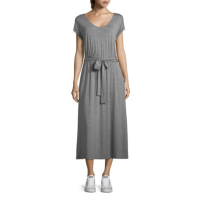 a.n.a Short Sleeve Shirt Dress - Tall
