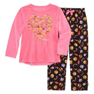 Emoji Inc. N/A 2-pc. Pant Pajama Set Girls