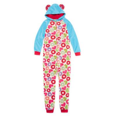Cloud 9 Long Sleeve One Piece Pajama-Big Kid Girls