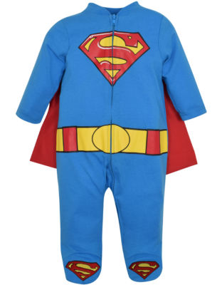 Caped Long Sleeve Jumpsuit - Baby