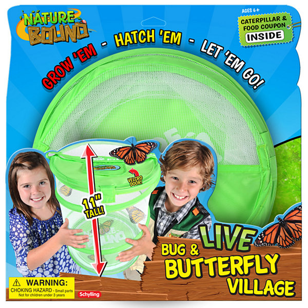 Bug & Butterfly Village Discovery Toy