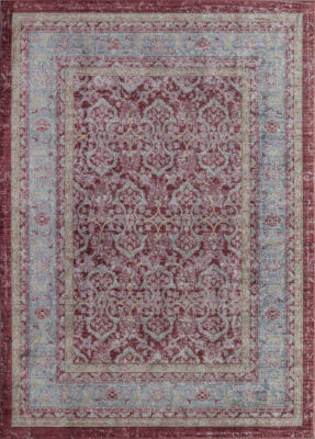 Rugs America Asteria Cherry Red Oriental Rug