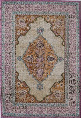 Rugs America Beverly Ivory Rust Oriental Rug