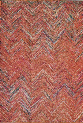 Rugs America Beverly Rust Abstract Rug