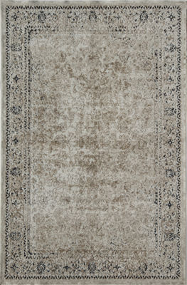 Rugs America Cambridge Cream Abstract Rug