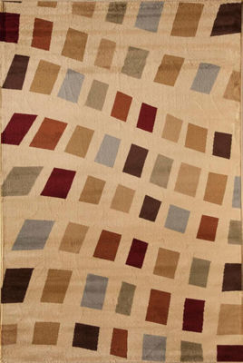 Rugs America Capri Holly Geometric Rug