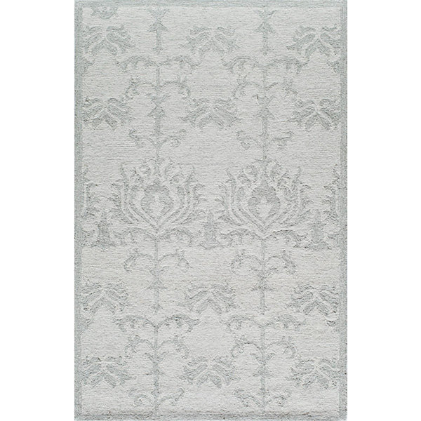 Rugs America Cortland Ivory Blossom Abstract Rug