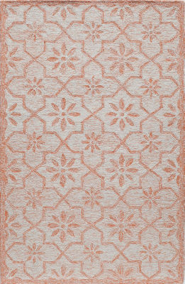 Rugs America Cortland Ginger Abstract Rug