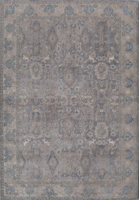 Rugs America Estelle Gray Ivory Abstract Rug