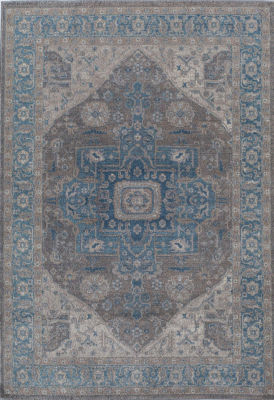 Rugs America Estelle Blue Gray Oriental Rug