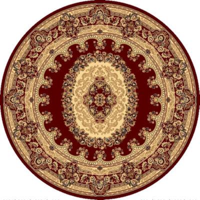 Rugs America New Vision Kerman Round Oriental Rug