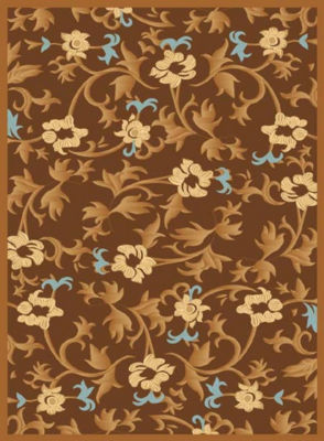 Rugs America Torino Bouquet Floral Rug