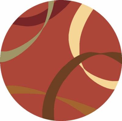 Rugs America Torino Ribbons Geomtric Round Rug