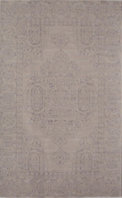 Rugs America Wilshire Ivory Oriental Rug