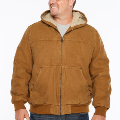 Levi's Workwear Hoody Sherpa Lined Bomber Jacket- Big and Tall