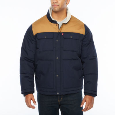 Levi's Sherpa Lined Trucker Jacket-Big and Tall