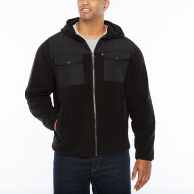 Levi's Hooded Fleece Jacket- Big and Tall