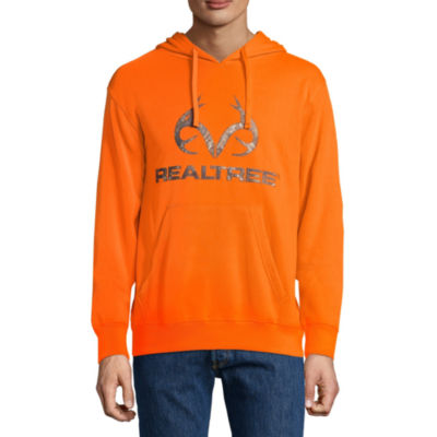 Realtree Performance Chest Logo Long Sleeve Knit Hoodie