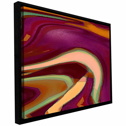 Broadcast Gallery Wrapped Floater-Framed Canvas Wall Art