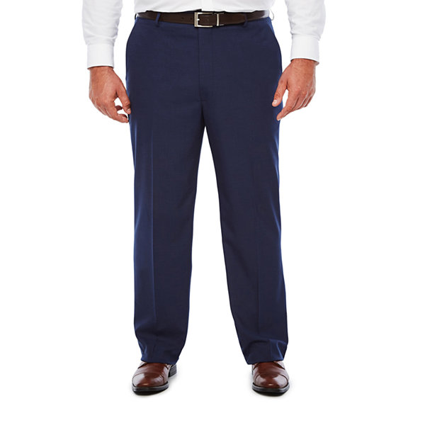 JF Dark Blue Texture FF Pant-Big and Tall