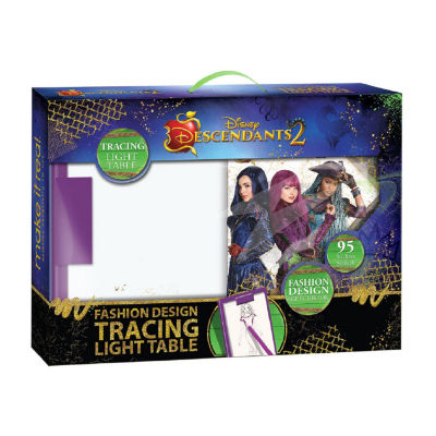 Disney Descendants 2 Fashion Design Tracing Light Table