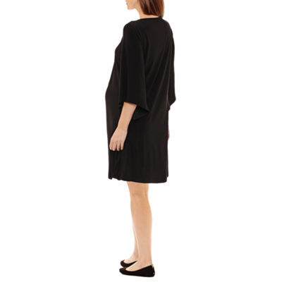 Tiana B 3/4 Sleeve A-Line Dress - Maternity