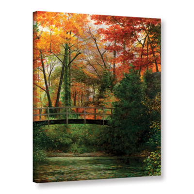 Brushstone Giverny Bridge Gallery Wrapped Canvas Wall Art