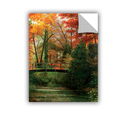 Brushstone Giverny Bridge Removable Wall Decal