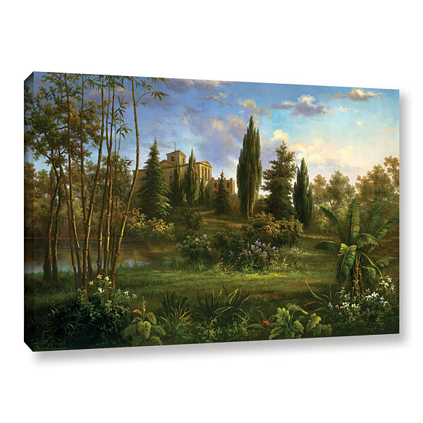 Brushstone Giverny Garden Gallery Wrapped Canvas Wall Art