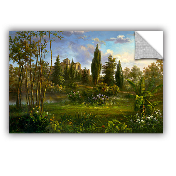 Brushstone Giverny Garden Removable Wall Decal