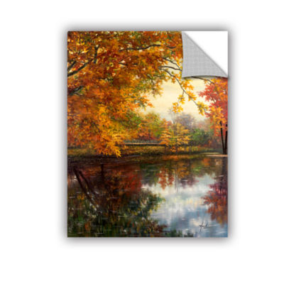 Brushstone Pond At Giverny Removable Wall Decal