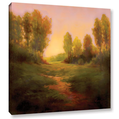Brushstone Nightfall I Gallery Wrapped Canvas WallArt