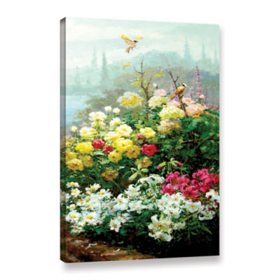 Brushstone Rachel's Garden II Gallery Wrapped Canvas Wall Art
