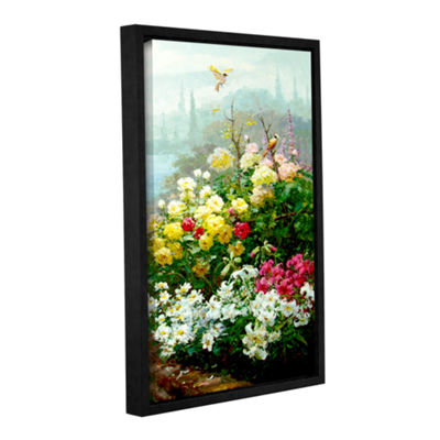 Brushstone Rachel's Garden II Gallery Wrapped Floater-Framed Canvas Wall Art