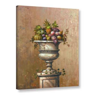 Brushstone Fruitful Endeavor I Gallery Wrapped Canvas Wall Art