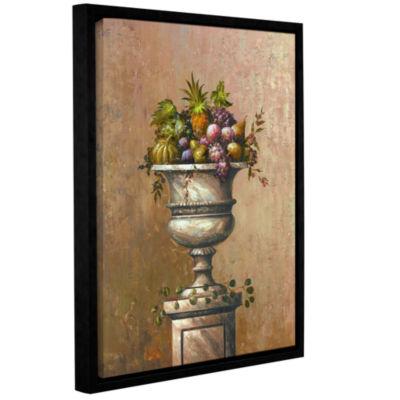 Brushstone Fruitful Endeavor I Gallery Wrapped Floater-Framed Canvas Wall Art