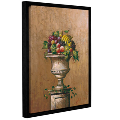 Brushstone Fruitful Endeavor II Gallery Wrapped Floater-Framed Canvas Wall Art