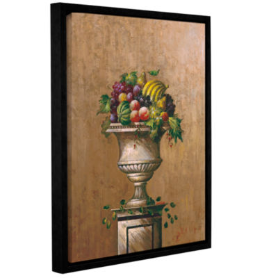 Brushstone Fruitful Endeavor II Gallery Wrapped Floater-Framed Canvas Wall Art