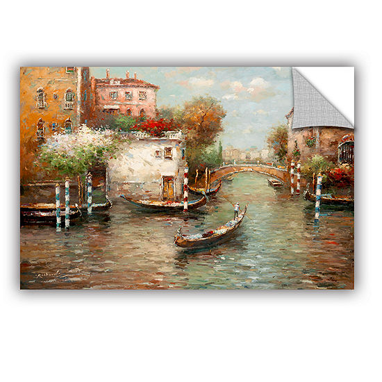 Brushstone Afternoon In Venice Removable Wall Decal