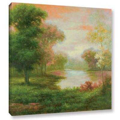 Brushstone Pierre's Twilight Gallery Wrapped Canvas Wall Art