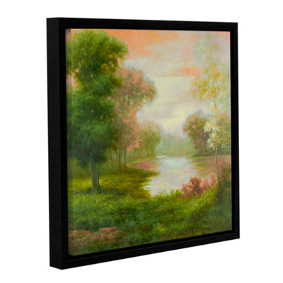 Brushstone Pierre's Twilight Gallery Wrapped Floater-Framed Canvas Wall Art