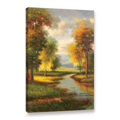Brushstone Resplendent I Gallery Wrapped Canvas Wall Art