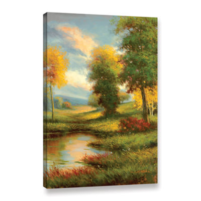 Brushstone Resplendent II Gallery Wrapped Canvas Wall Art