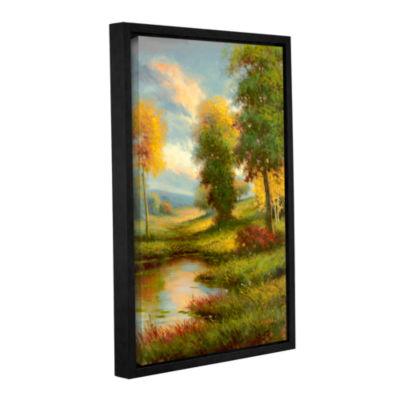 Brushstone Resplendent II Gallery Wrapped Floater-Framed Canvas Wall Art