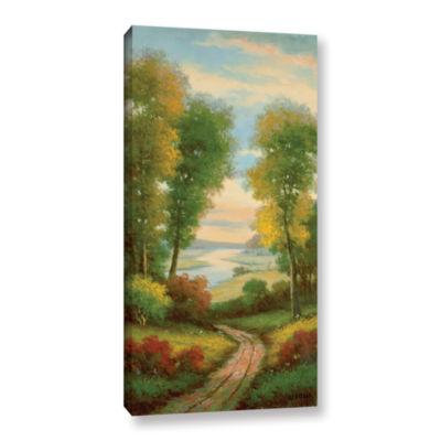Brushstone Serenity II Gallery Wrapped Canvas WallArt