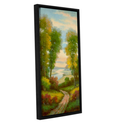 Brushstone Serenity II Gallery Wrapped Floater-Framed Canvas Wall Art