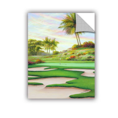 Brushstone #8 Bunkers At Emeral Dunes Removable Wall Decal