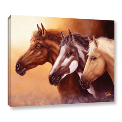 Brushstone Born Free Gallery Wrapped Canvas Wall Art