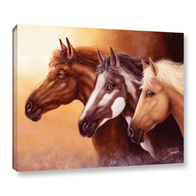 Brushstone Born Free Gallery Wrapped Floater-Framed Canvas Wall Art